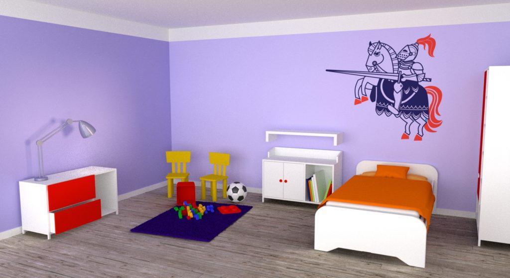 Jak vybrat tu správnou barvu dětského pokoje